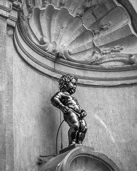 Manneken Pis Bruselas Blgica Atracciones