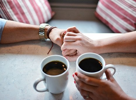 What It Means To Be In Love.  Love, Coffe, Cup, Sweet, Romance