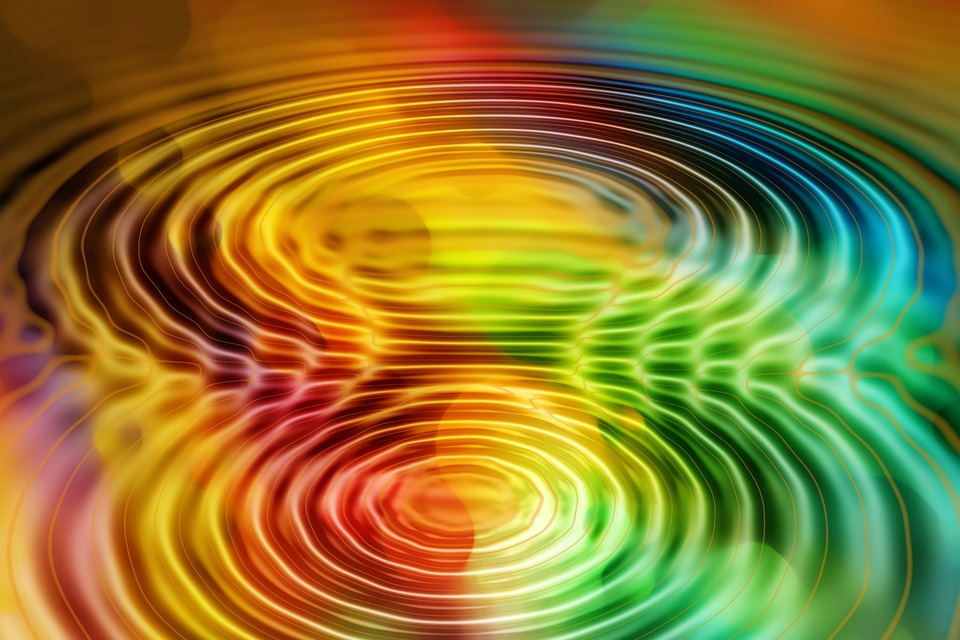Free Illustration Wave Concentric Waves Circles Free