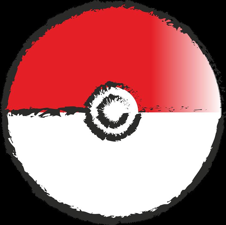 ポケモン pokeball ポケモン行きます pixabayの無料ベクター素材
