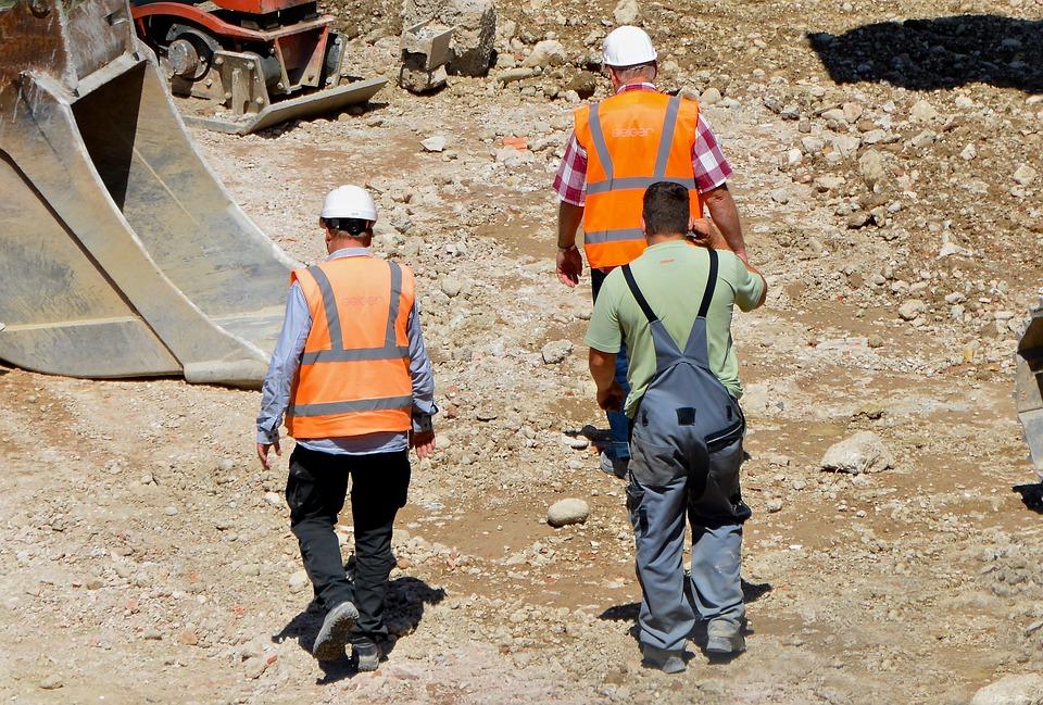 Kempten, Site, Construction Workers, Team, Foundation