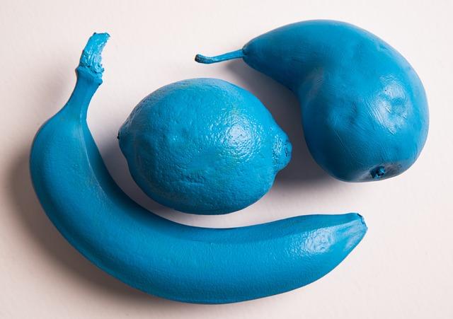 Blue Fruit Banana 183 Free Photo On Pixabay