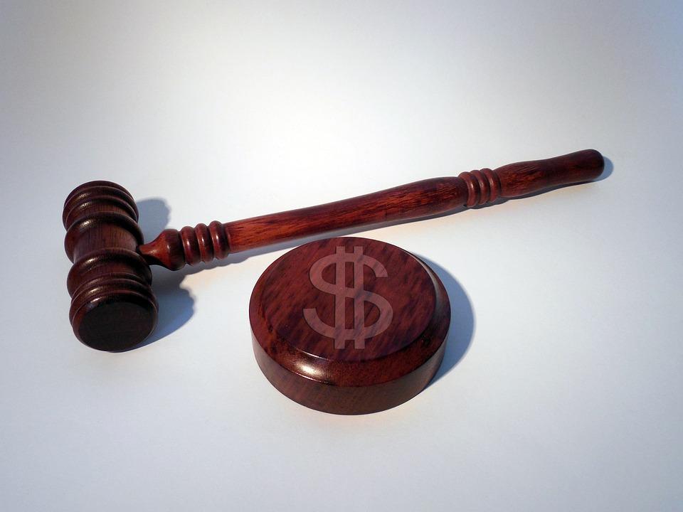 해머, 법정, Dollar, 달러 기호, 벌금, 정의, 법무부, 판사, 판례 법, 단락, 절, 법