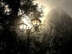 wallpaper, mist, light