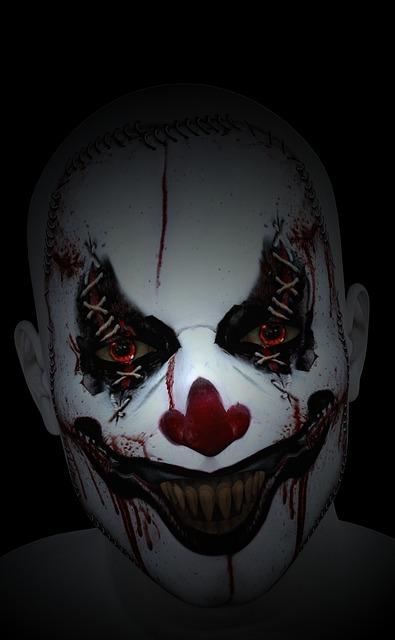 Clown Terror Halloween Free image on Pixabay