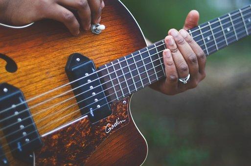 Guitar, Musician, Music, Instrument