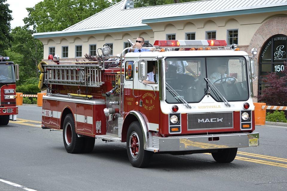 Firefighter Car Crash