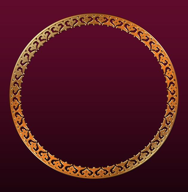 Фото в круге вектор