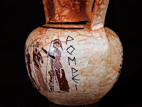 Vaso, Anfora, Pompei, Italia, Pittura