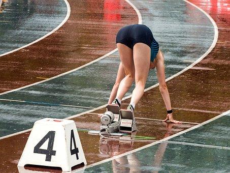 陸上競技, スポーツ, スプリント, 実行, 女性, レース, キャリア, 競争