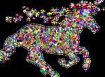 gem, unicorn, fantasy