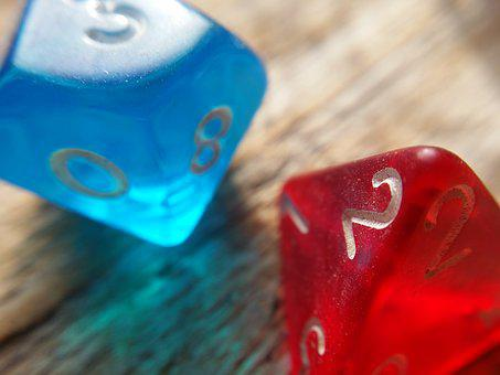 Dice Dungeons And Dragons Game Playing Rpg