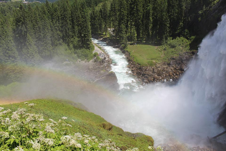 Krimmler Wasserfälle, Wasserfall, Stromschnellen