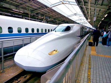 新幹線, 鉄道, 旅行, レール, 日本, 高速, 駅, 技術, 市