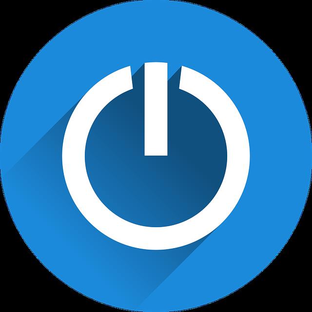 free vector graphic  shut down  close  leave  icon