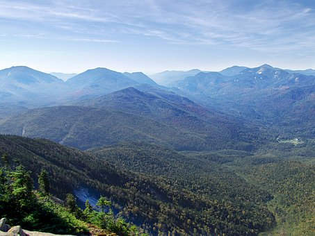 Giant Mountain Adirondacks Hiking Rocks Su