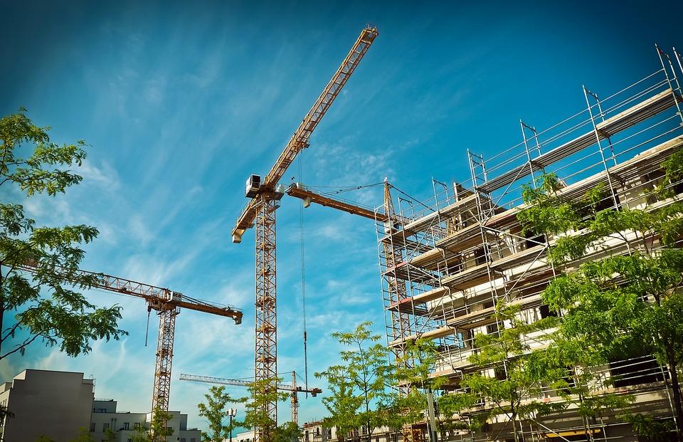 Architektur, Bau, Bauen, Gebäude, Baustelle