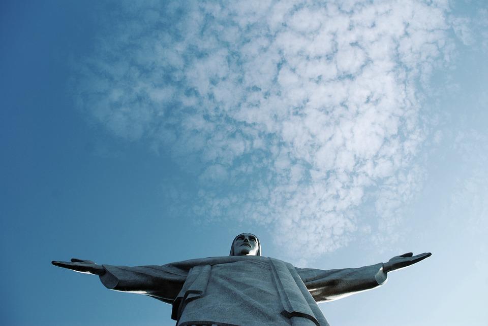 Rio, Cristo, Corcovado, Brasil, Janeiro, De, Redentor