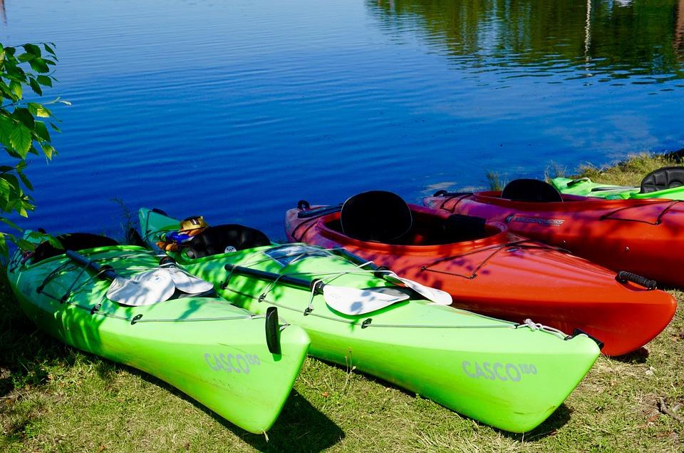 Kayak, Boat, Water, Paddle, Kayaking, Sport, Leisure