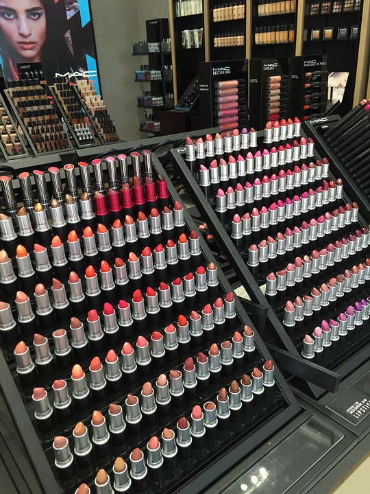 free photo lipstick mac makeup display free image on