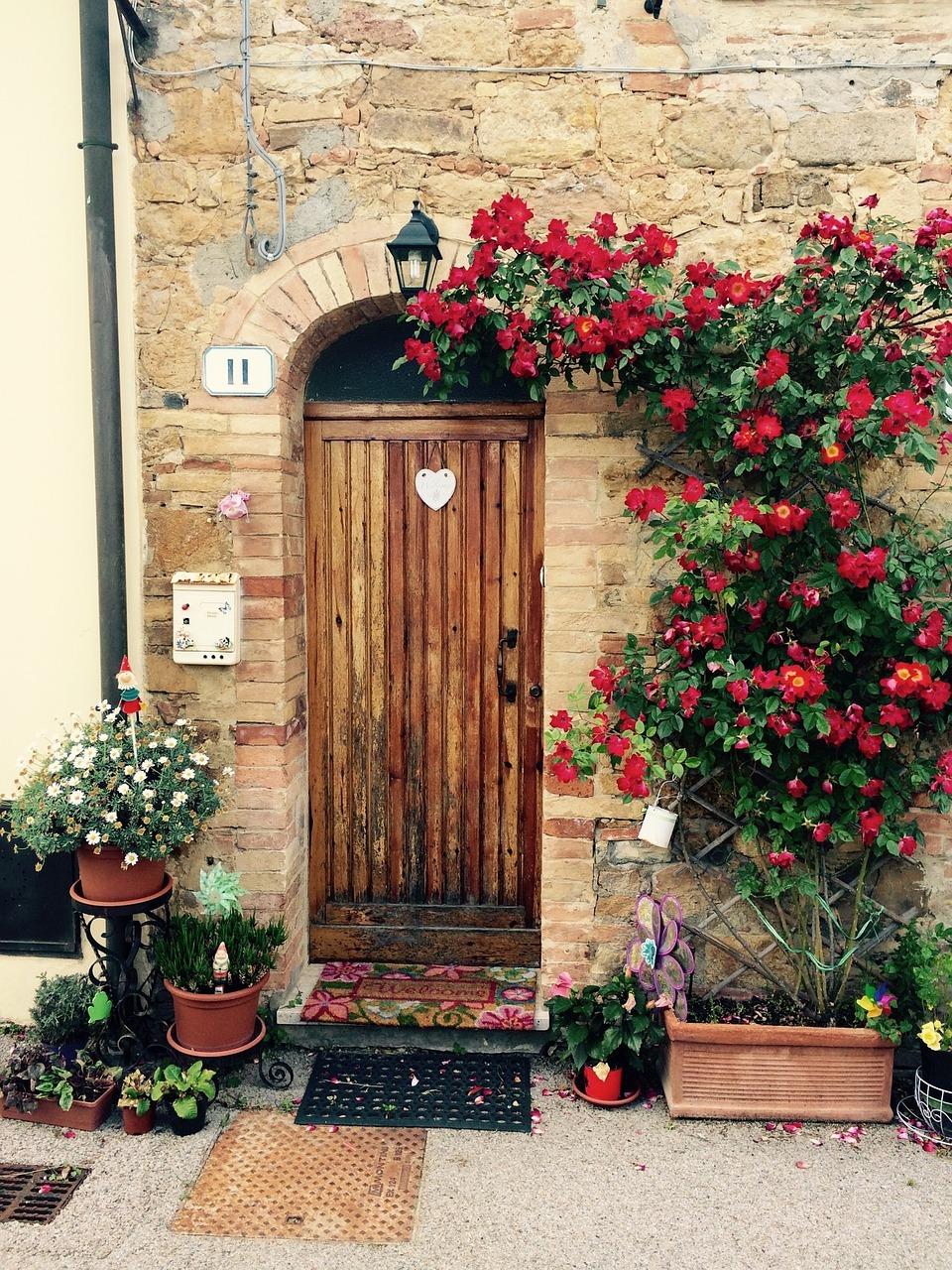меня картинки двери в домах италии все