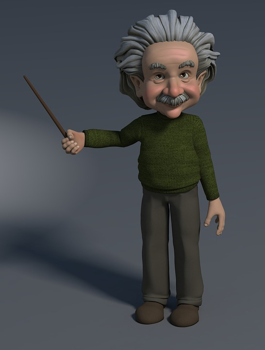 professor 3d figure pointing at free photo on pixabay