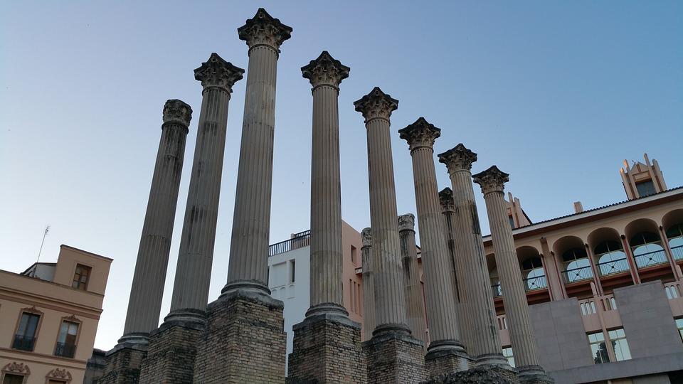 Templo romano de Córdoba viaje andalucia organizado