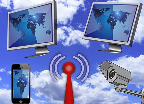 Wlan, Funk, Internet, Übermittlung