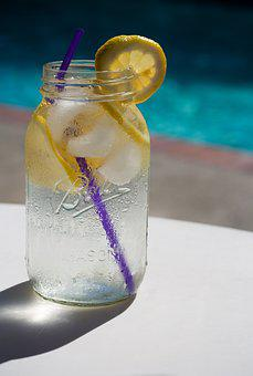 Water, Lemon, Pool, Summer, Refreshing