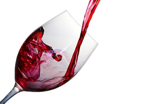 Wine, Splash, Glass, Red, Alcohol, Drink