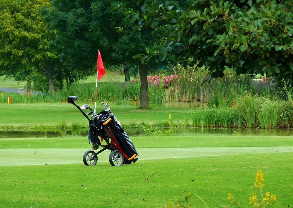 Golf Caddy Green - Free photo on Pixabay