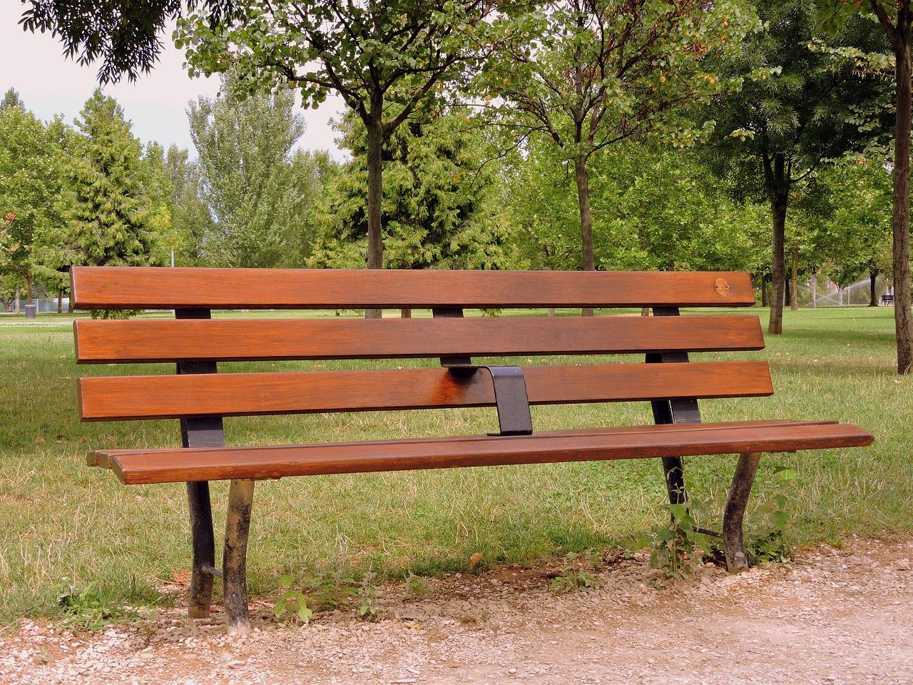 Про, открытка скамейка