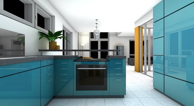 Kitchen Dining Room Rendering Gallery