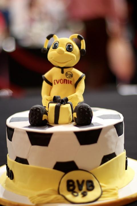 Torte Borussia Dortmund Bvb Kostenloses Foto Auf Pixabay