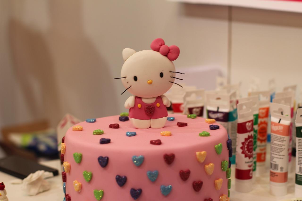 Hello Kitty Kake Kunst Motiverende Gratis Foto Pa Pixabay
