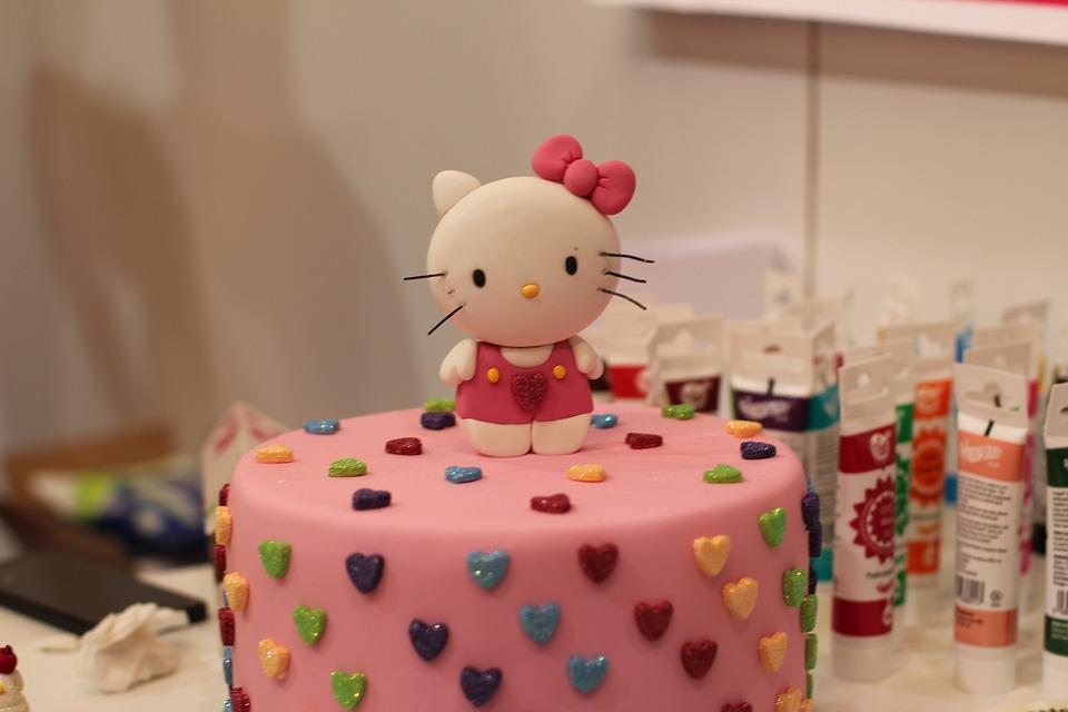 Hello Kitty Torte Kunst Kostenloses Foto Auf Pixabay