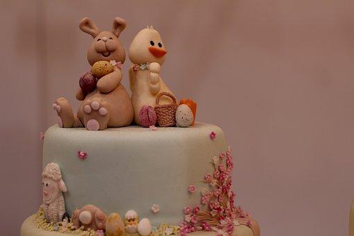 Easter Cake, Marzipan
