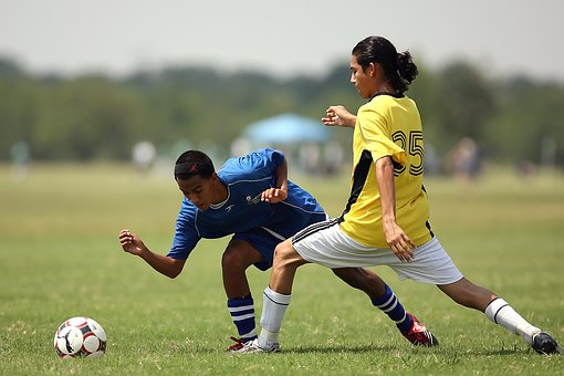 Soccer, Action, Football Players