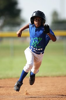 Baseball, Player, Running, Sport, Game