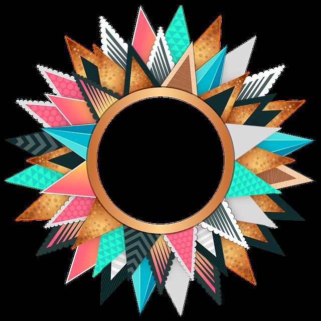 circle frame colorful 183 free image on pixabay