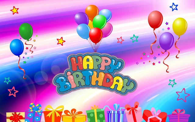 Birthday Happy Balloons · Free Image On Pixabay
