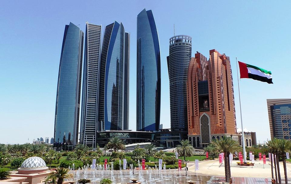 Architecture, Building, Skyscraper, Skyline, Abu Dhabi
