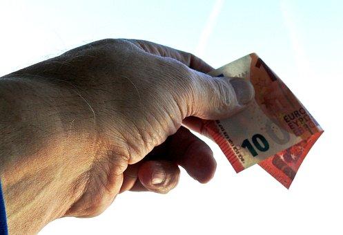 Dar, Aceptar Euros, 10 Euro
