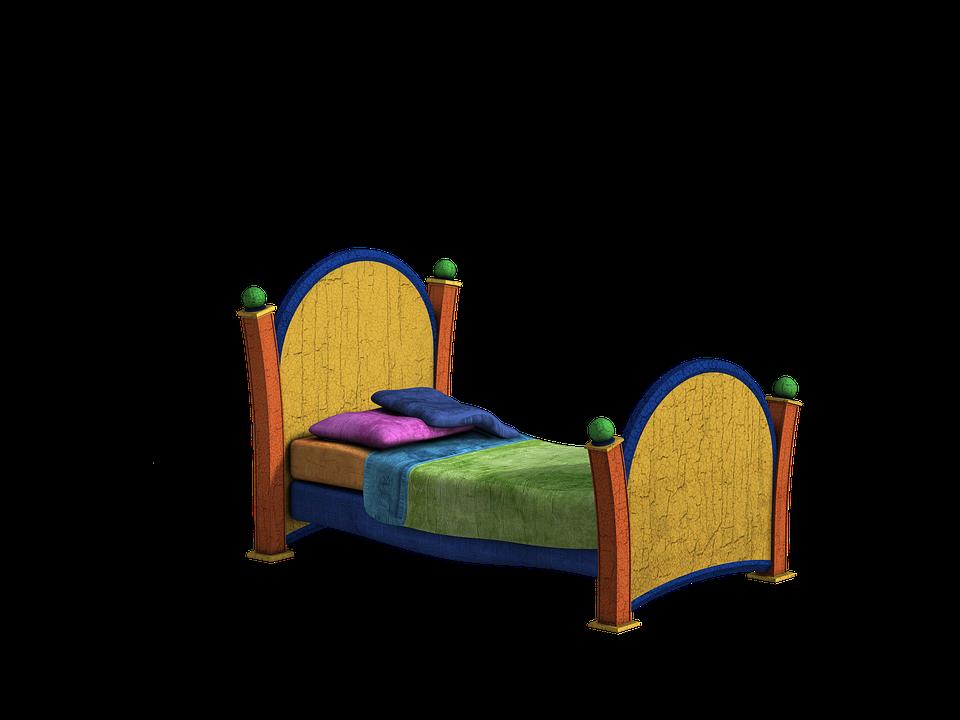 買取対象のベッドのイメージイラスト