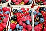 jagody, maliny, owoców