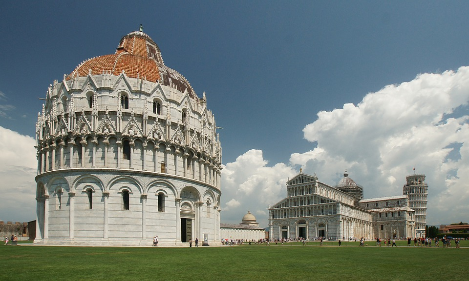 Pisa, Leaning, Tower, Italy, Building, Europe, Famous