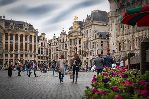 Bruselas Grote Markt Blgica Ciudad Histr