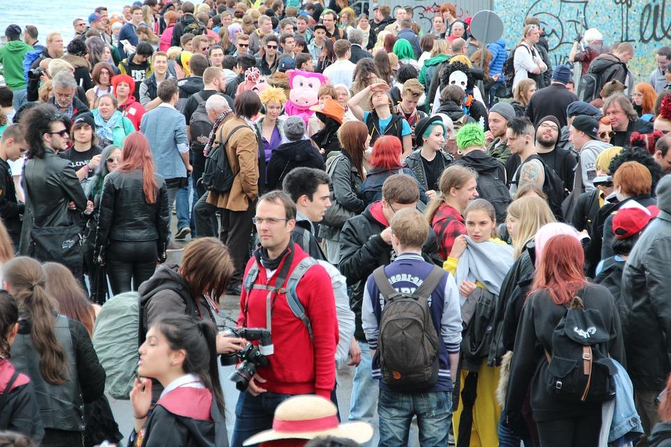 Menschenmasse, Veranstaltung, Personengruppe