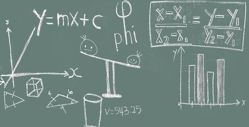 math blackboard education free photo on pixabay