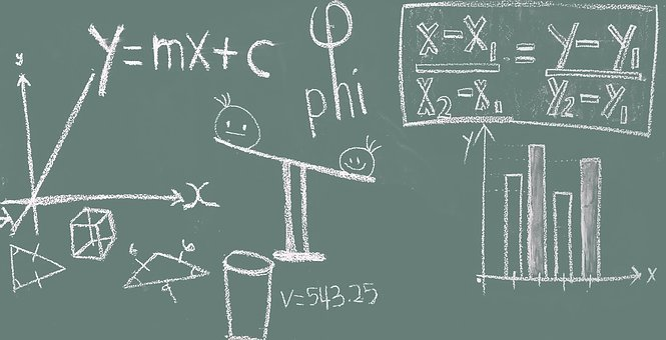 Math, Blackboard, Education, Classroom